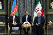Iranian, Azeri Presidents Stress Using National Currencies for Trade